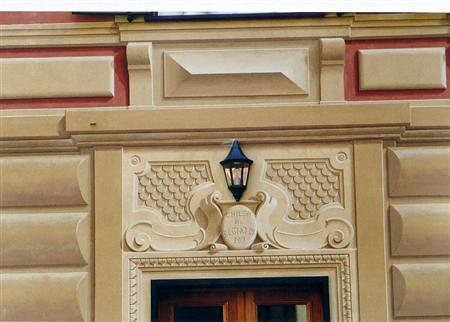 Rosario lupo alcuni esempi di decorazioni pittoriche - Decorazioni pittoriche ...